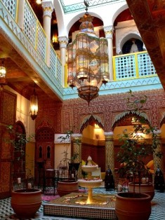 riad patio